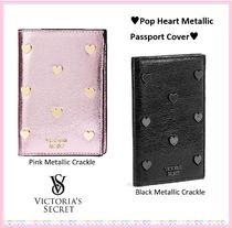 国内発送◆VS◆Pop Heart Metallic Passport Cover/送料込み