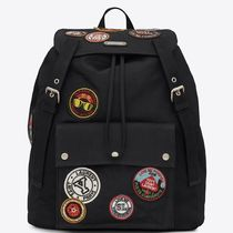 18SS SLP365 NOE BACKPACK WITH MULTICOLORED PATCHES