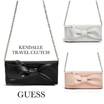 ☆GUESS☆新作♪リボンが可愛いクラッチバッグ☆KENDALLE☆
