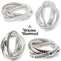 ◆VivienneWestwood◆豪華な5連リング♪Dustin Ring