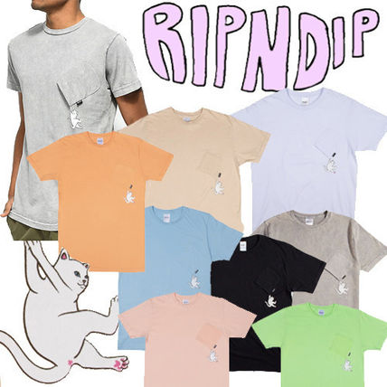 ● RIPNDIP ●超人気! Hang In There Nermal ポケット T  即発