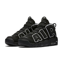Nike Air More Uptempo Black/White ナイキ モアテン Pippen