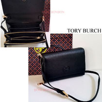 【Tory Burch】Bombe Flat Wallet Crossbody ♪関送込/ヤマト便