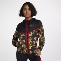 NIKE 922189-010 WMNS PRINTED JACKET BLACK