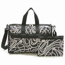 LeSportsac ミニボストンバッグ MEDIUM WEEKENDER CHARLESTON S