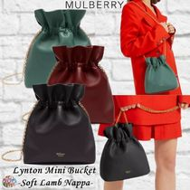 Mulberry☆Lynton Mini Bucket-Soft Lamb Nappa-巾着バッグ