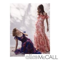 Alice Mccall(アリスマッコール) ワンピース alice Mc CALL 新作ワンピース FLORA GOWN SCARLET