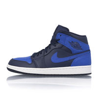 "AIR JORDAN 1 MID ""OBSIDIAN / ROYAL""Nikeハイカットスニーカー"