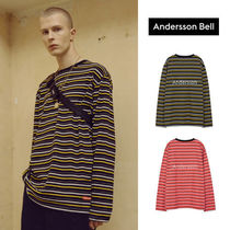 ANDERSSON BELL(アンダースンベル) Tシャツ・カットソー ANDERSSON BELL正規品★ANDERSSONストライプTシャツ★UNISEX