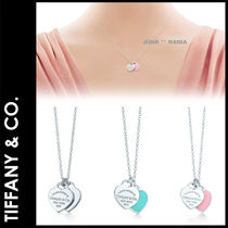 ★追跡&関税込【TIFFANY & CO】Mini W HeartTag Pendant