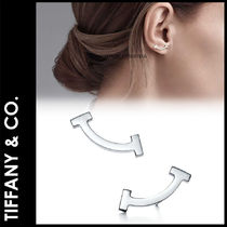 ★3-7日着/追跡&関税込【TIFFANY & CO】TiffanyT Smile Earrings