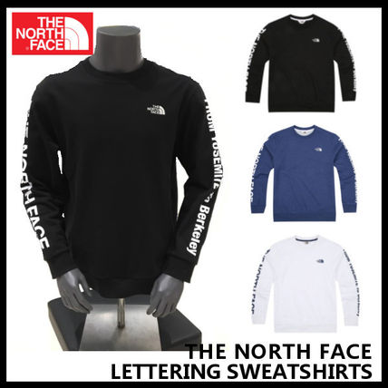 【THE NORTH FACE】LETTERING SWEATSHIRTS 3色 NM5MJ02