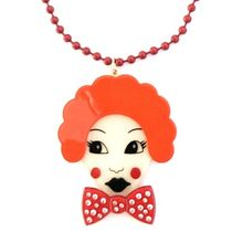 Anna Lou Of LONDON(アナルーオブロンドン) ネックレス・ペンダント 即納&国内発送◎【AnnaLou OF LONDON】StarryBow clown necklace