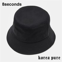 8 SECONDS(エイトセカンズ) 帽子その他 【8SECONDS】Minimal Lettering Bucket Hat  - 2color