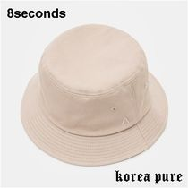 【8SECONDS】Twill Basic Bucket Hat ? Beige