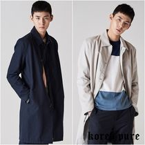 【8SECONDS】Twill Minimal Mac Coat  / 2colors