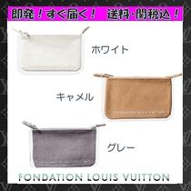 Fondation Louis Vuitton(フォンダシオンルイヴィトン) ポーチ ★すぐ届く!送料込☆パリ限定  ルイヴィトン美術館 限定ポーチ