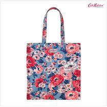 Cath Kidston★BOOK BAG COTTON WORTH BUNCH SLATE BLUE