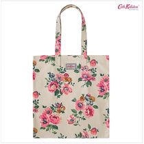 Cath Kidston★BOOK BAG COTTON WINDFLOWER BUNCH