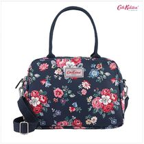 Cath Kidston★BUSY BAG MATT COATED FOREST BUNCH NAVY
