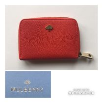 Mulberry☆マルベリーTree Zip Around Wallet Small 即発 Fiery
