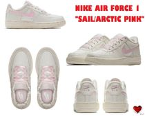 Love it  大人もOK NIKE AIR FORCE 1 SAIL/ARCTIC PINK