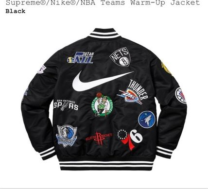 Supreme ジャケットその他 3 week SS18 (シュプリーム) X Nike x nba teams warm up jacket(8)