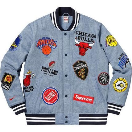 Supreme ジャケットその他 3 week SS18 (シュプリーム) X Nike x nba teams warm up jacket(9)