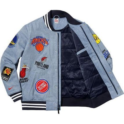 Supreme ジャケットその他 3 week SS18 (シュプリーム) X Nike x nba teams warm up jacket(10)