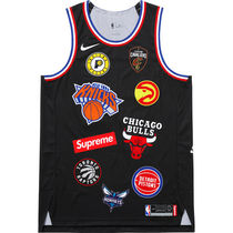 在庫あり 18S/S Supreme Nike NBA Authentic Jersey Black