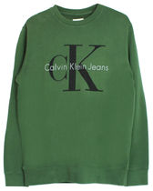 Calvin Klein Crew Neck Sweat - Olive オリーブ クルー