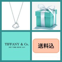 ■送料込■ TIFFANY & Co. Open Heart Pendant 11 mm シルバー♪