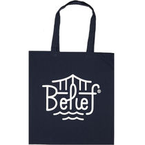 Belief(ビリーフ) トートバッグ Belief NYC Triboro Tote -ネイビー