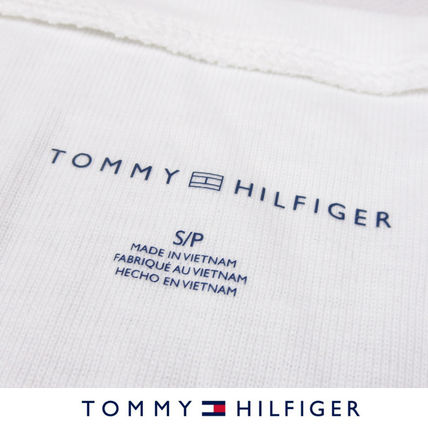 Tommy Hilfiger Tシャツ・カットソー 国内在庫【1-3日】Tommy Hilfiger トミー ロゴ Vネック Tシャツ(5)