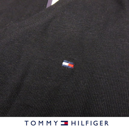 Tommy Hilfiger Tシャツ・カットソー 国内在庫【1-3日】Tommy Hilfiger トミー ロゴ Vネック Tシャツ(16)