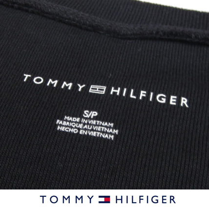 Tommy Hilfiger Tシャツ・カットソー 国内在庫【1-3日】Tommy Hilfiger トミー ロゴ Vネック Tシャツ(17)