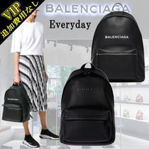 ◆VIP◆BALENCIAGA 'Everyday' Leather backpack(L) A4可 UNISEX