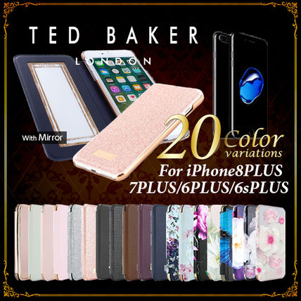 VIP価格【TED BAKER】手帳型 iPhone8PLUS/7PLUS/6sPLUS/6PLUS