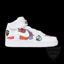 SS18 SUPREME NIKE NBA TEAMS AIR FORCE 1 MID WHITE 送料無料