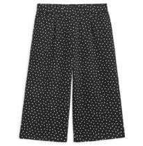 """ARKET(アーケット) キッズ用ボトムス """"ARKET KIDS""""Cropped Jersey Trousers  Dot Black/White"""