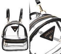 *GUESS*PVC バックパック TORI LUCITE BACKPACK