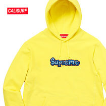 WEEK3★SS18 Supreme Reflective Taping Hooded-LEMON/Mサイズ