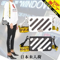 "◆◆VIP◆◆ Off-White ""DIAG"" Mini  BINDER CLIP Bags /未入荷"