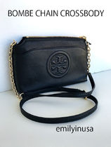 【追跡有】TORY BURCH★BOMBE CHAIN CROSSBODY 44592*黒