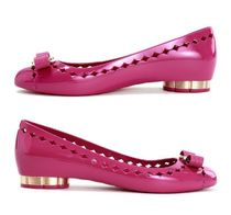 【関税負担】 SALVATORE FERRAGAMO JELLY PUMPS
