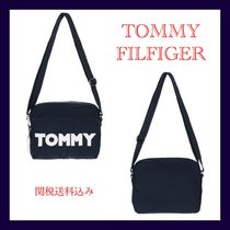 TOMMY JEANS★トミ― 新作 ロゴ入り ボディバッグ 男女兼用