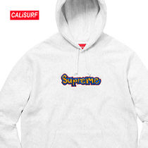 WEEK3★SS18 Supreme Reflective Taping Hooded-GRAY/Mサイズ