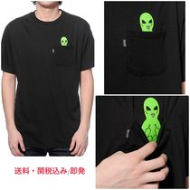 送料・関税込/即発  RIPNDIP Lord Alien Pocket Black Tシャツ