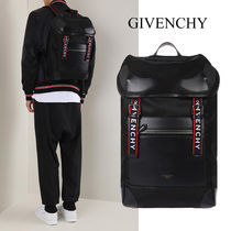 GIVENCHY ナイロン&フェイクレザー バックパック BK5009K02Y