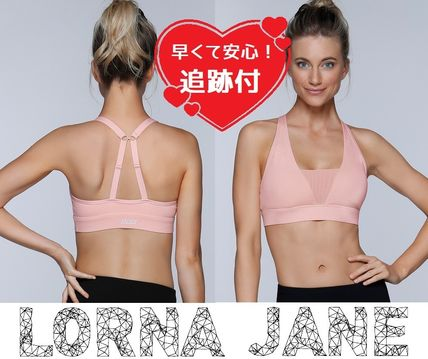 Lorna Jane フィットネストップス ★追跡有【Lorna Jane】Whisper Sports Bra★
